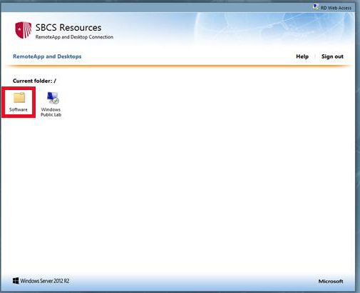 SBU - Computer Science Department - Remote Desktop Web Access